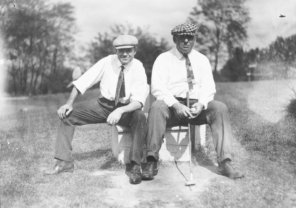 Billy Sunday and Anson in Springfield, Ohio in 1911